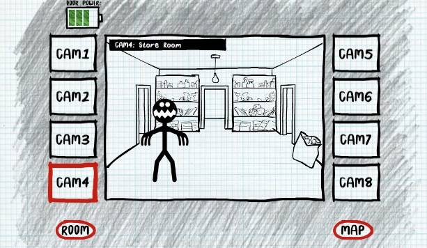 Stickman Five Nights Survival на ПК