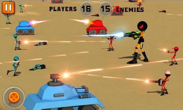 Stickman Battle Simulator 3D на Андроид
