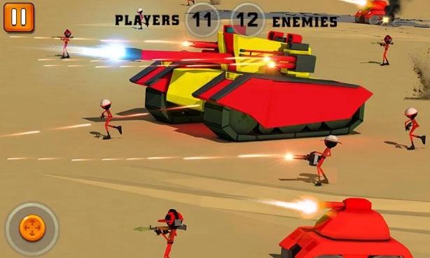 Stickman Battle Simulator 3D на ПК