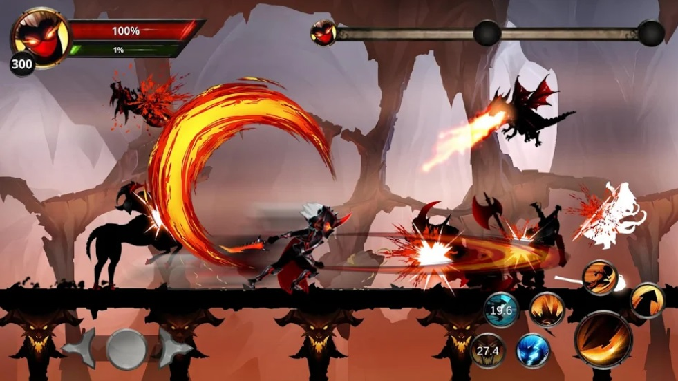 Stickman Legends: Shadow War Offline Fighting Game на Андроид