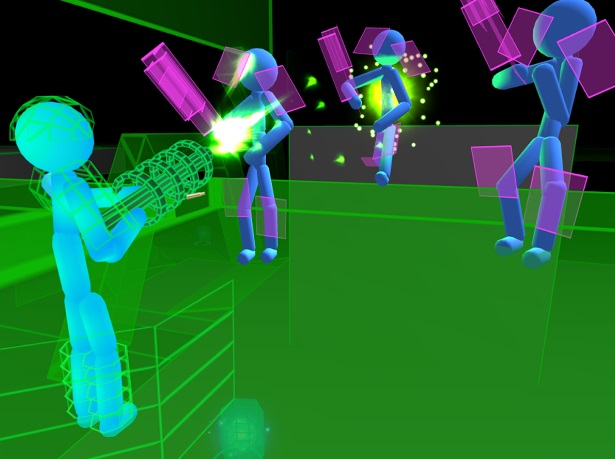 Stickman: Neon Gun Warriors на ПК