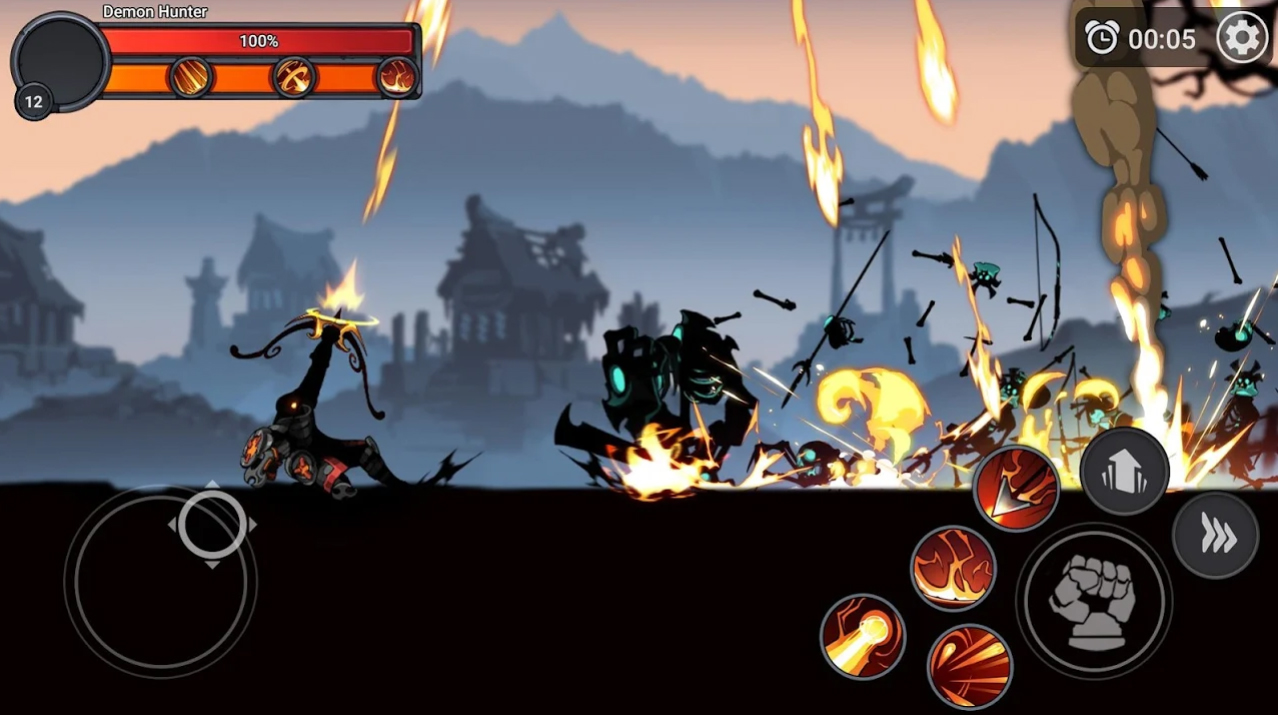 Stickman Master: League Of Shadow на Андроид