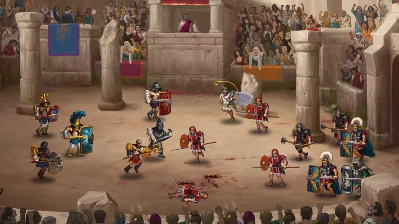 Story of a Gladiator на Андроид