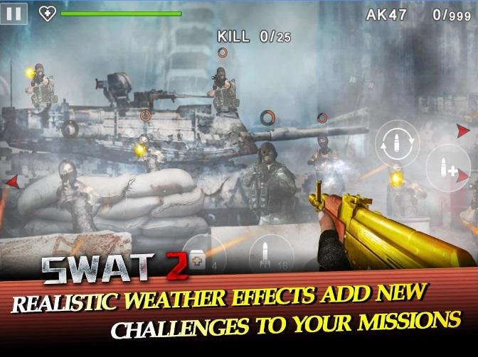 Swat 2 на Андроид