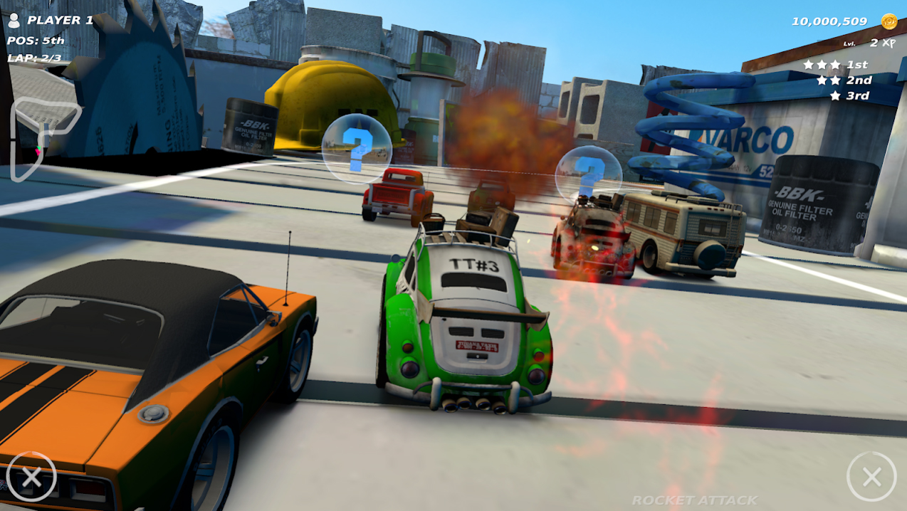 Table Top Racing: World Tour на Андроид