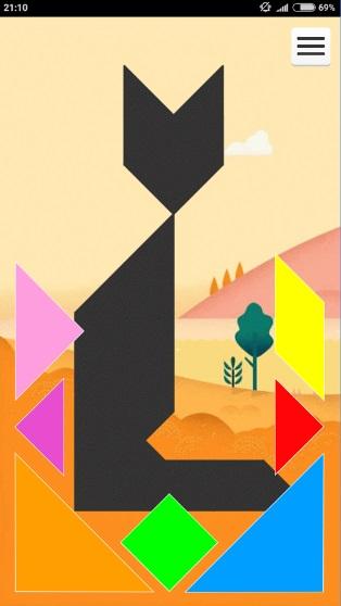 1001 Танграм: игра-головоломка на Андроид