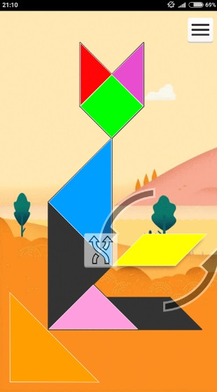 1001 Танграм: игра-головоломка на ПК