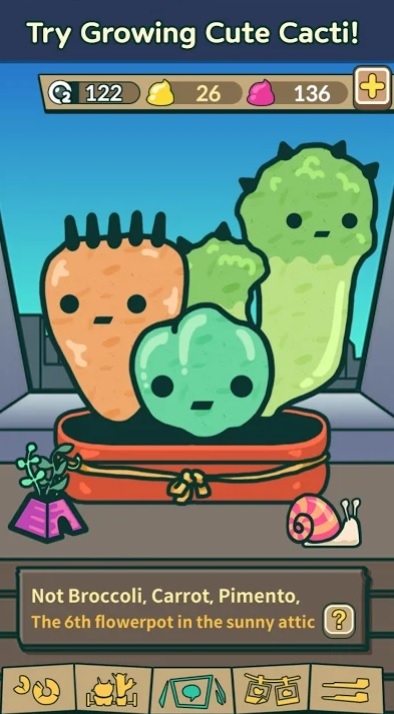 Tap Tap Cacti на Андроид