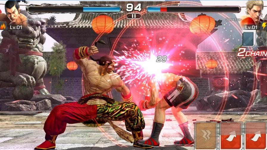 Tekken на Андроид