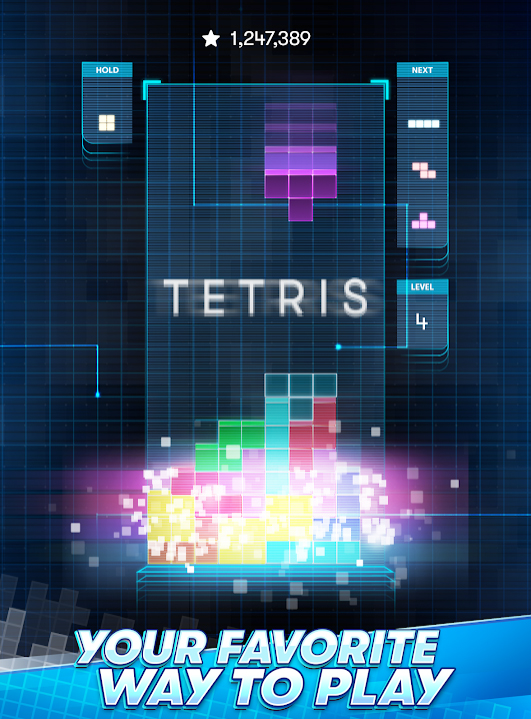 Tetris на Андроид