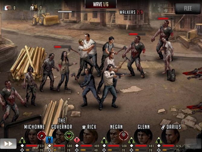The Walking Dead: Road To Survival на Андроид