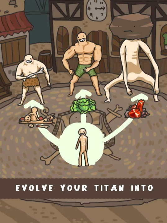 Мир Эволюции Титанов на Андроид