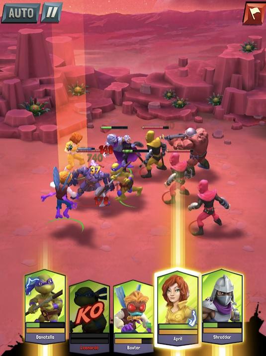 TMNT: Mutant Madness на Андроид