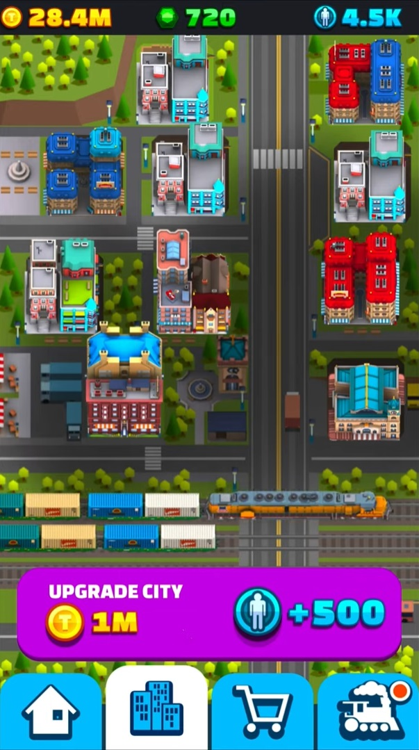 Train Collector: Idle Tycoon на Андроид