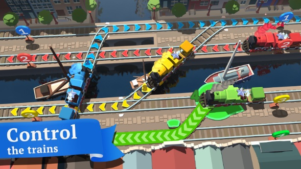 Train Conductor World на Андроид