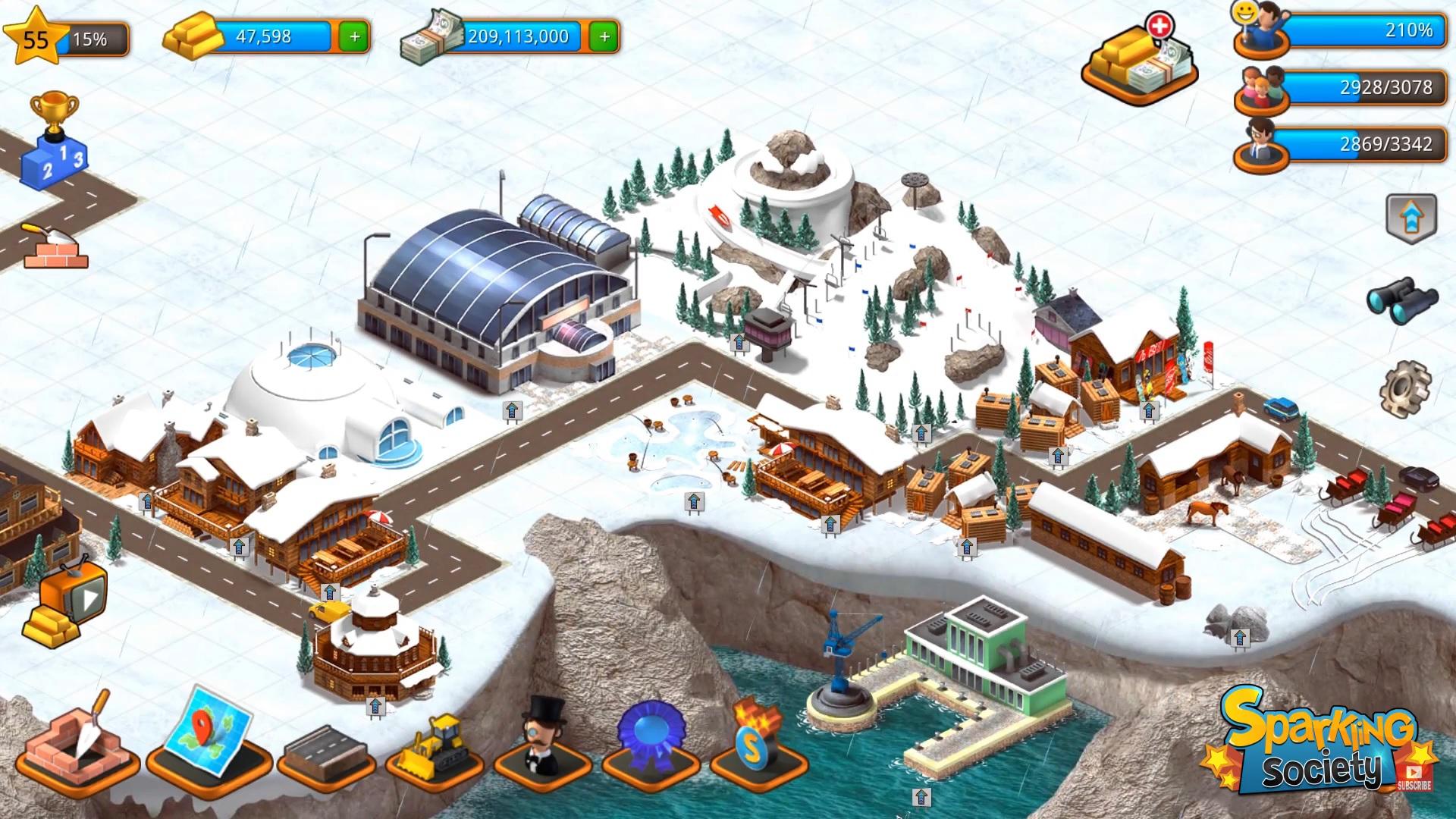 Tropic Paradise Sim на Андроид