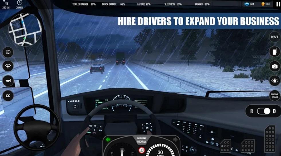 Truck Simulator PRO Europe на Андроид