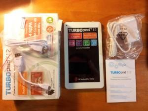 TurboPad 712 - обзор планшета