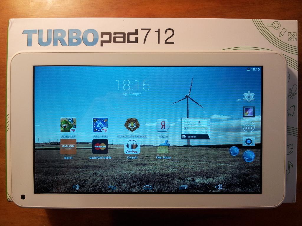 TurboPad 712 — обзор планшета