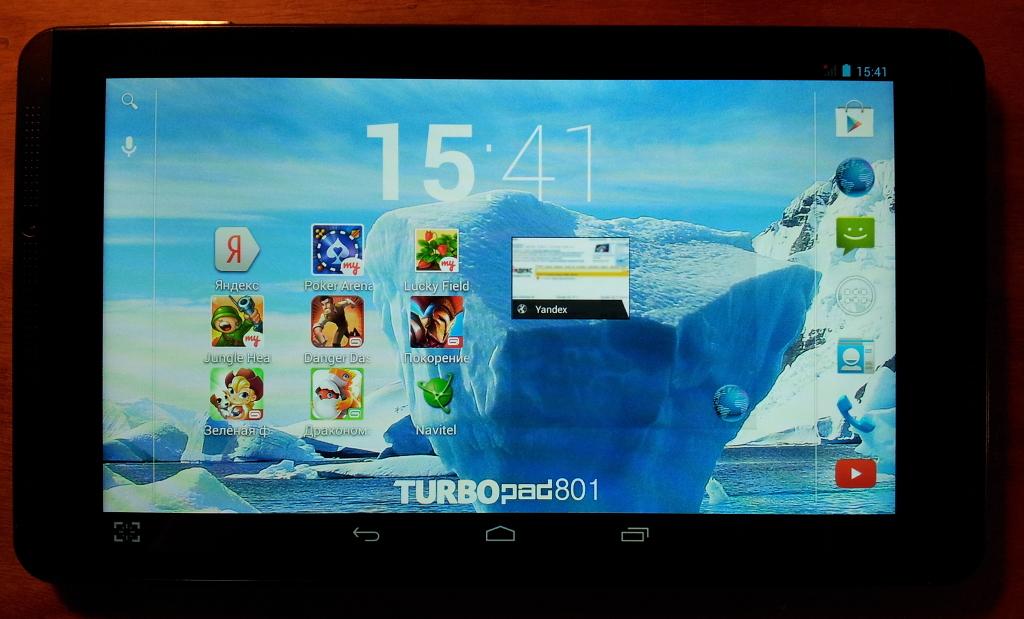 Обзор TurboPad 801