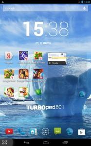 TurboPad 801 - обзор планшета