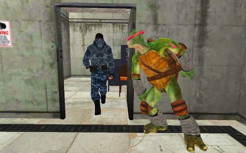 Turtle Ninja: Critical Escape - City Prison на ПК