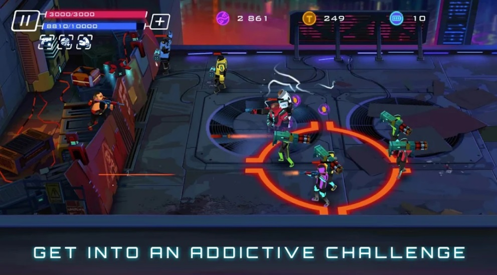 Uprising: Cyberpunk 3D Action Game на Андроид