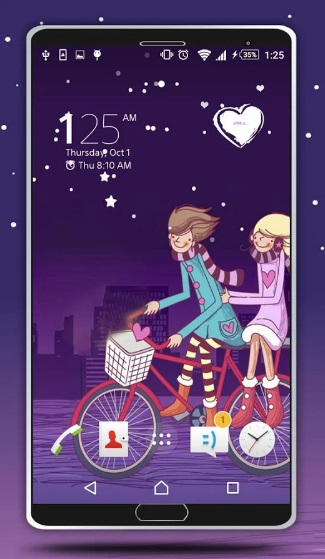 Valentine Day Live Wallpaper на Андроид