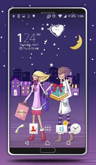 Valentine Day Live Wallpaper на ПК