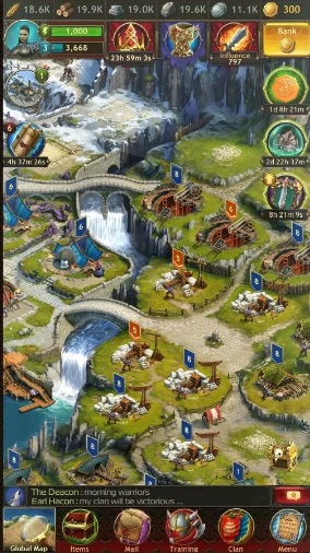 Vikings: war of clans на Андроид