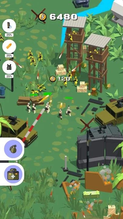Военная стрельба 3D на Андроид