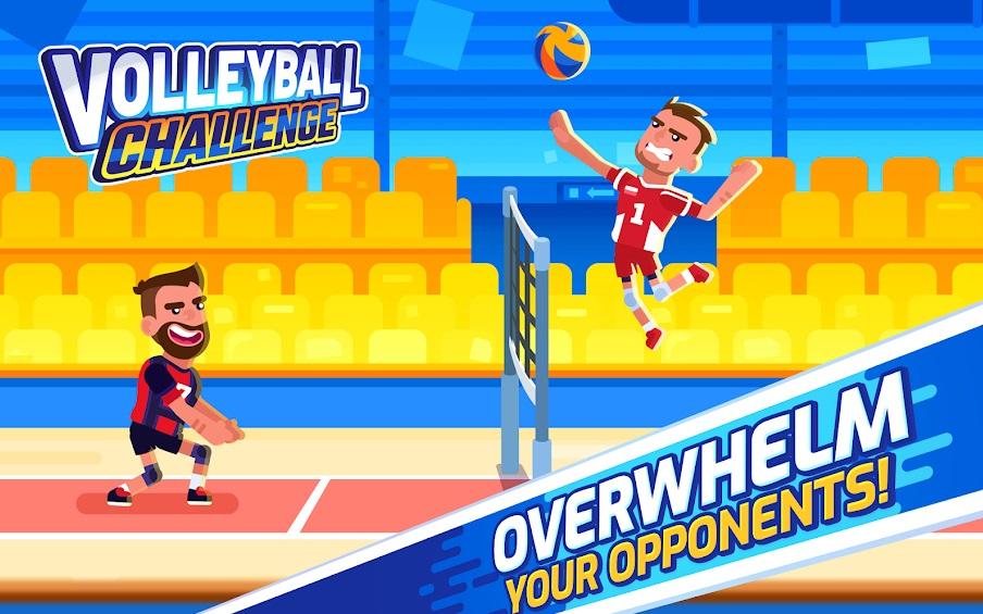 Volleyball Challenge на Андроид
