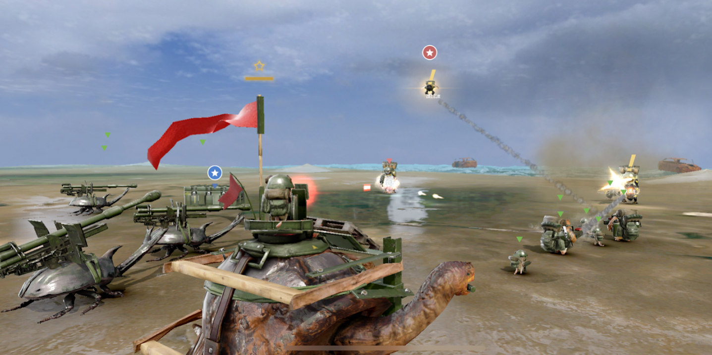 War Tortoise 2 - Idle Exploration Shooter на Андроид