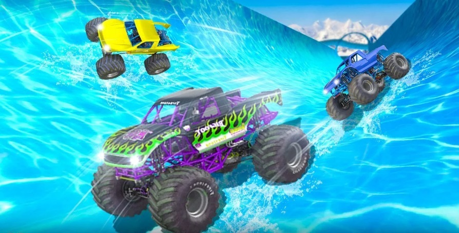 Water Slide Truck Race на ПК
