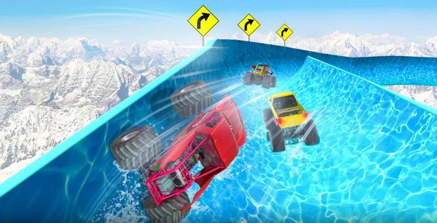 Water Slide Truck Race на Андроид