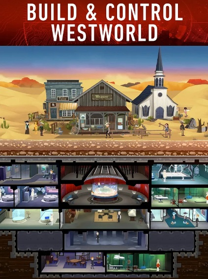Westworld на Андроид