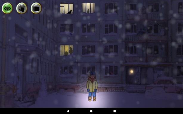 Зимняя ночь: приключение на Андроид