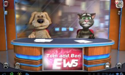 Говорящие Том и Бен ведущие теленовостей