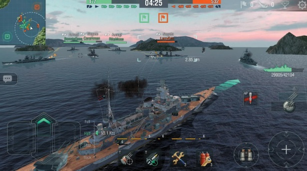 World of Warships Blitz на Андроид