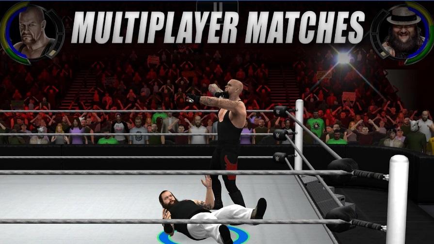 WWE 2k на Андроид