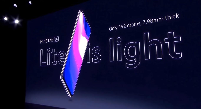 Смартфон Xiaomi Mi 10 Lite  – дата выхода, обзор
