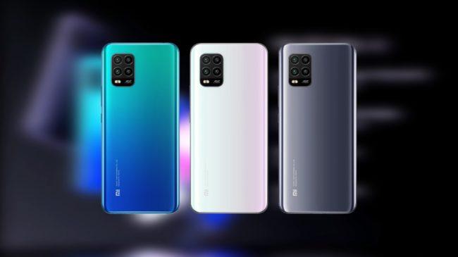 Xiaomi Mi 10 Lite задняя часть