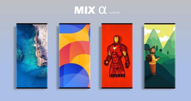 телефон Xiaomi Mi Mix 4 (Alpha)
