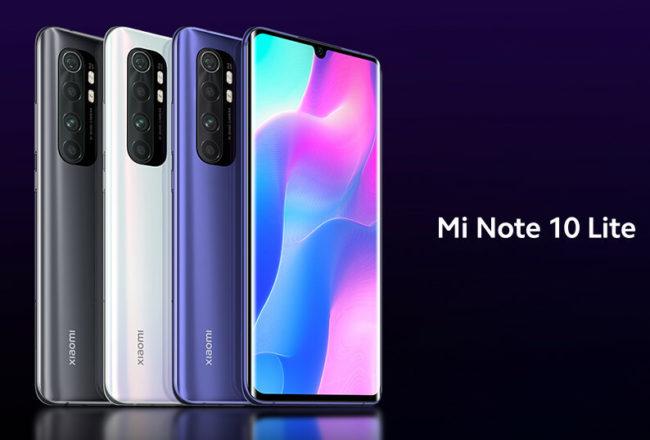 Смартфон Xiaomi Mi Note 10 Lite  – дата выхода, обзор