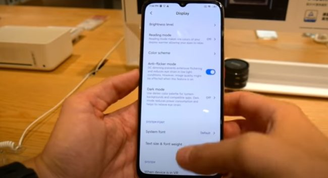 Xiaomi Redmi 10X 5G экран