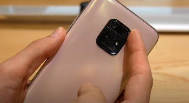 Xiaomi Redmi 10X 5G камера