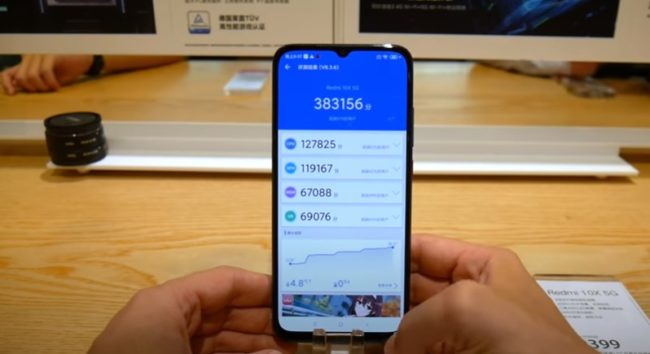 Xiaomi Redmi 10X 5G характеристики