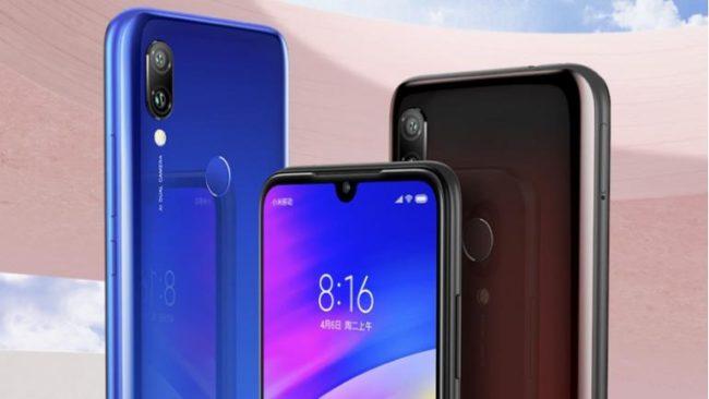 Xiaomi Redmi 7 камера