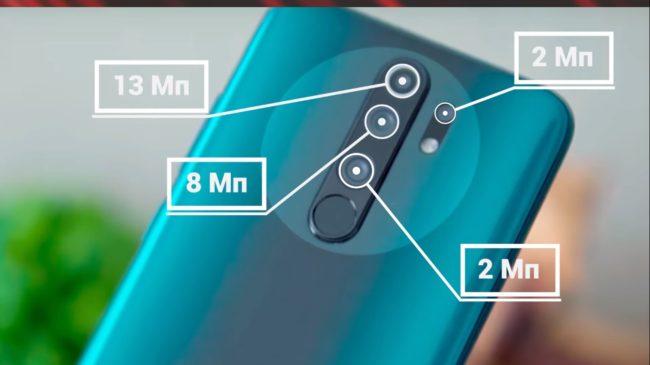 Xiaomi Redmi 9 камера