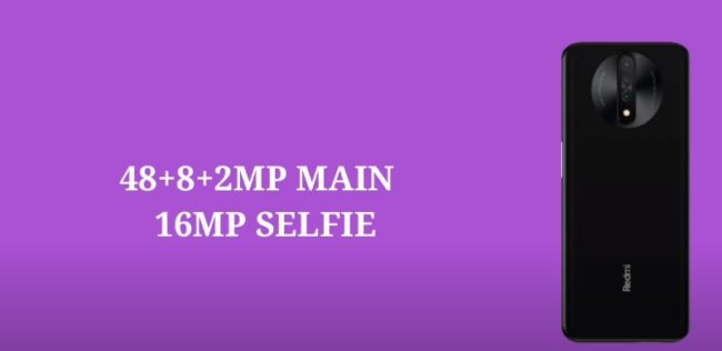 Xiaomi Redmi K30i 5G камера